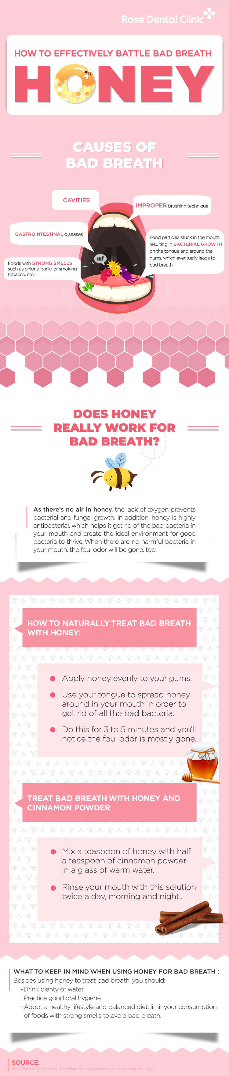 How to effectively battle bad breath with honey