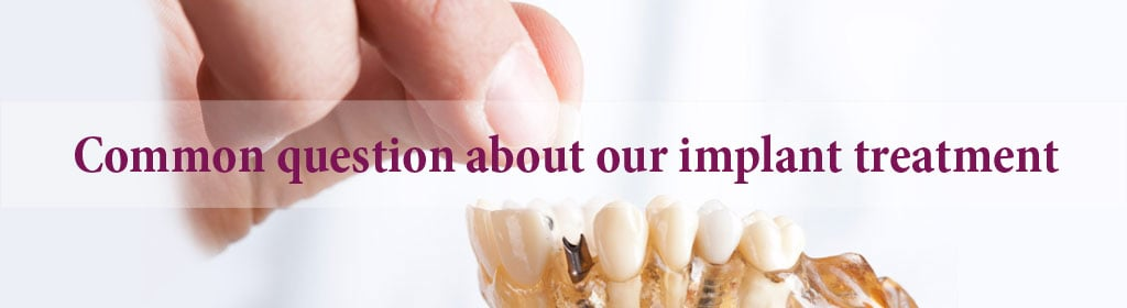 Answering common questions about dental implant - Part 1